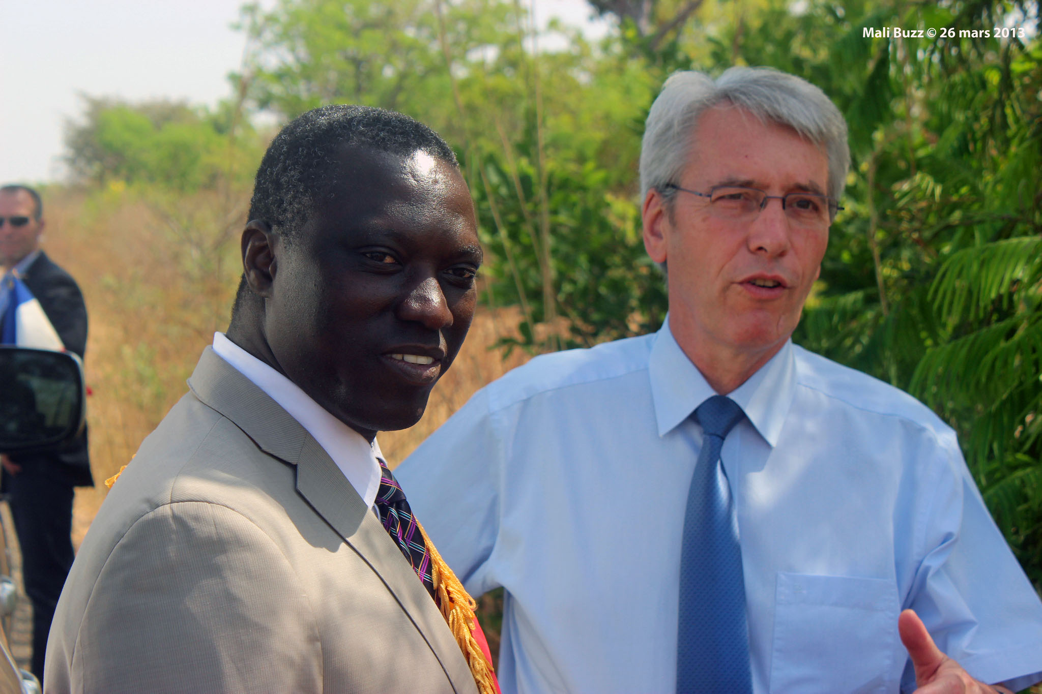 Niankoro Yeah Samaké hopes to be elected the first Mormon president of Mali