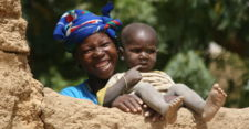 Malian Mother and Child